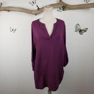Pleione purple tunic new